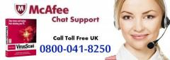 Chat support for McAfee