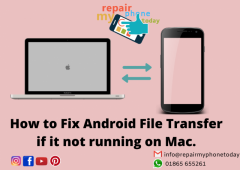 How to fix Android File Transfer if it not running on M