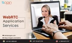 Looking for WebRTC Application services center in UK