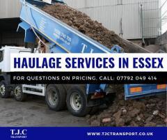 Haulage Essex - heavy road haulage services in Essex