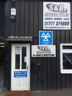 Motorcycle MOT and Services in Essex
