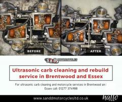 Motorcycle Ultrasonic Carb Cleaning In Essex