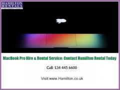 MacBook Pro Hire & Rental Service Contact Hamilton