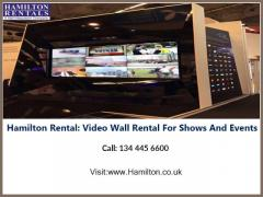 Hamilton Rental Video Wall Rental For Shows And Events