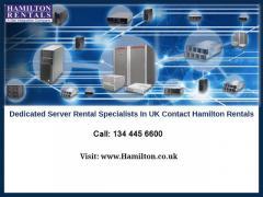 Dedicated Server Rental Specialists In UK