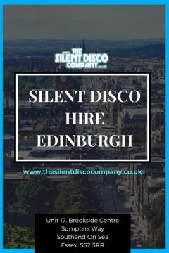 Silent Disco Hire Edinburgh