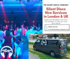 Silent disco hire in London & UK