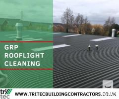 GRP Rooflight Cleaning Services - Tritec Builders