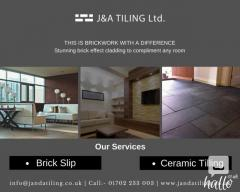 Brick Slips and Ceramic Tiles Installation