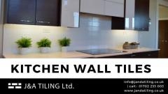 Kitchen wall tiles in Essex