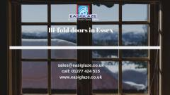 Bifold Doors Installation in Essex