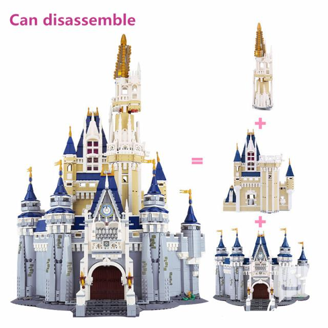 Lepin 16008 Cinderella Castle Model Building Block Toys 5 Image