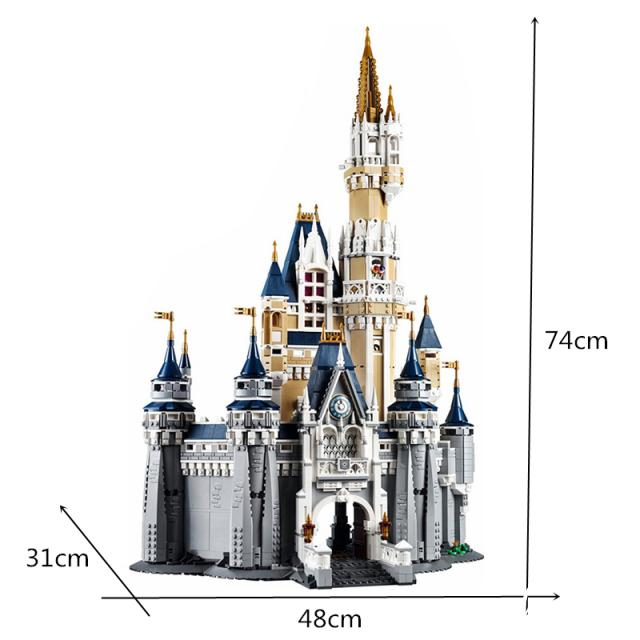 Lepin 16008 Cinderella Castle Model Building Block Toys 3 Image