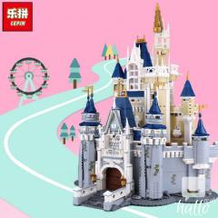 Lepin 16008 Cinderella Castle Model Building Block Toys