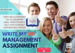 Best Hr Management Assignment Help-Top Writing S