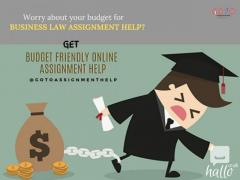 Offer on Business Law Assignment-Affordable Online Help