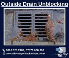 Flat 10Percent Discount on Outside Drain Unblocking