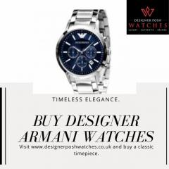 Buy Designer Armani Watches