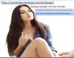 Backpage cambridge  Back page Cambridge